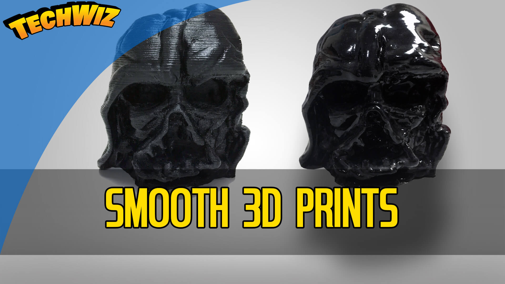 Smoothing your 3D Print with Epoxy