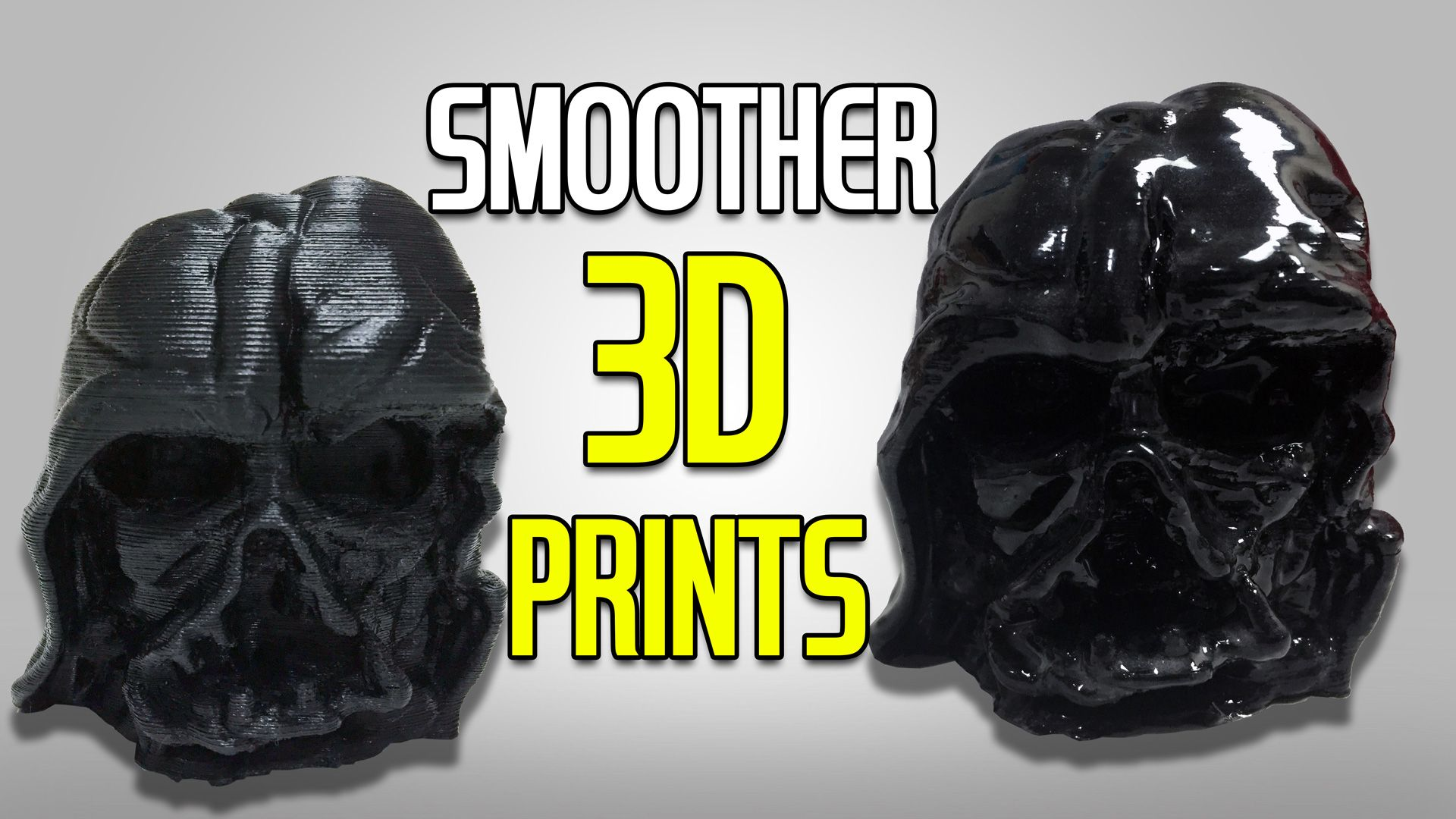 Smoother 3D Prints with Epoxy not Acetone
