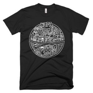 A New Hope For A Death Star Wars Inspired T-Shirt