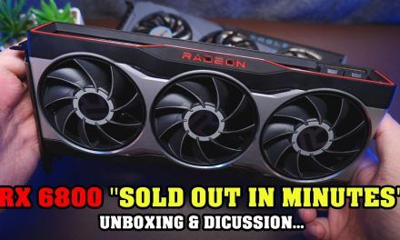"AMD RX 6800 Will be SOLD OUT ""in a few minutes"" – RX6800 Unboxing & Chat"