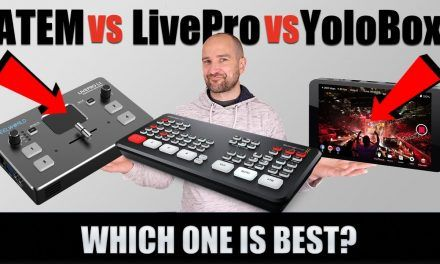 ATEM Mini vs LivePro L1 vs YoloBox: The Best HDMI Switcher?
