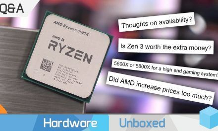 Are Ryzen 5000 CPUs Too Expensive? Memory Sweet Spot? Zen 3 Q&A