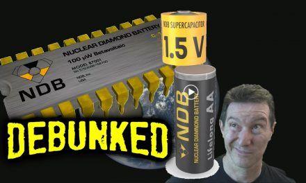 EEVblog #1333 – Nano Diamond Self-Charging Battery DEBUNKED!