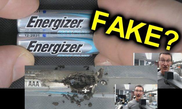 EEVblog #1350 – Fake Energizer Batteries?
