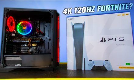 PS 5 and Fortnite FPS  Vs. PC – 120Hz 4K OLED Possible?! ?