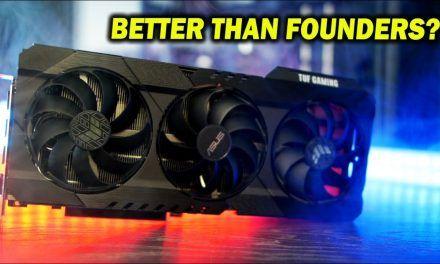 RTX 3080 ASUS TUF Gaming OC Review – BIG Gains Vs. Founders