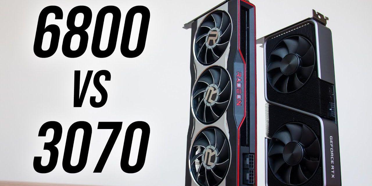 Radeon RX 6800 vs Nvidia RTX 3070 – GPU Comparison