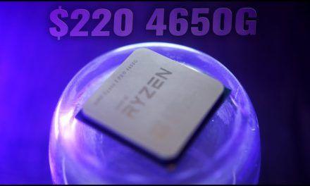 Ryzen 5 4650G – $220 Zen 2 APU, but why no RDNA?