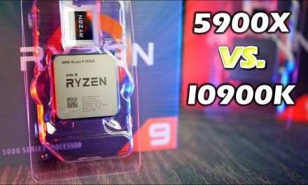 Ryzen 5900X Vs i9-10900K (Benchmarks and Review)