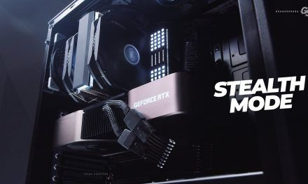 STEALTH MODE RTX 3090 PC Build in Phanteks P400A