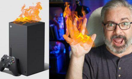 "Xbox Series X Overheats, ""BURNS Journalist"" & PS5 vs Xbox Drive Upgrades"
