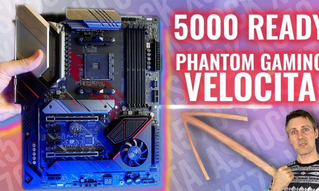 is X570 Refresh any Different? The $265 X570 Phantom Gaming Velocita Review