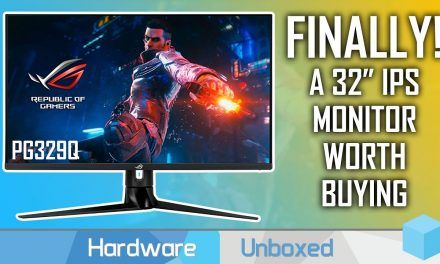 Asus PG329Q Review, The Very Fast 32-Inch 1440p Gaming Monitor To Get