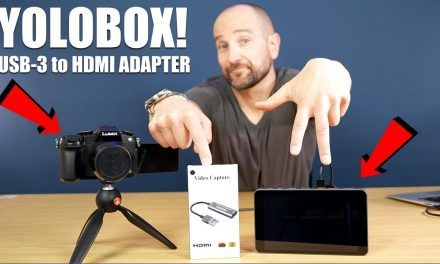 YoloBox – Getting a Third HDMI Input from the USB-3 Port Explained!