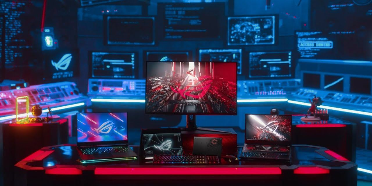 ASUS ROG WON #CES2021 with these Products AMD 5000 Series & Nvidia 3000 Series Laptops GAMERS DREAM