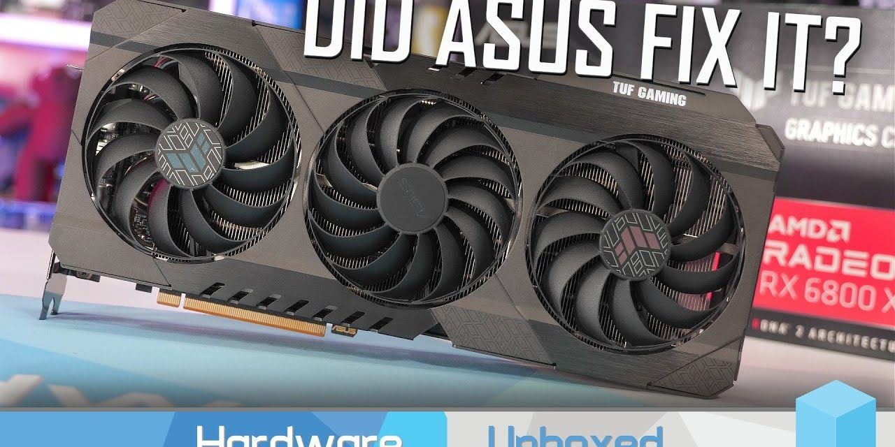Asus TUF Gaming RX 6800 XT Review, Power, Thermals, Overclocking & Gaming