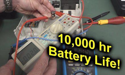 EEVblog #1371 – A 10,000hr Battery Life Bench Multimeter?