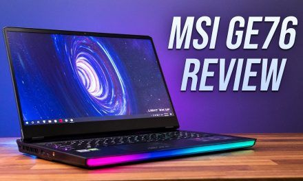 MSI's Most Powerful Gaming Laptop – GE76 Review