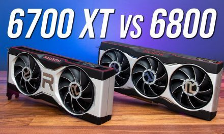 "RX 6700 XT vs RX 6800 – Next Level Worth ""$100"" More?"