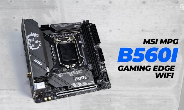 B560 ITX Boards are Interesting – MSI B560I Gaming Edge WiFi Overview