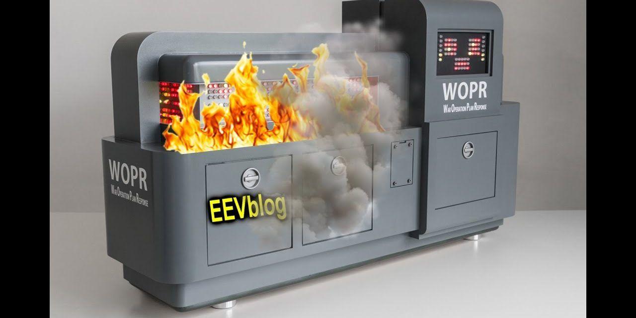 EEVBlog Data Center Server FIRE!