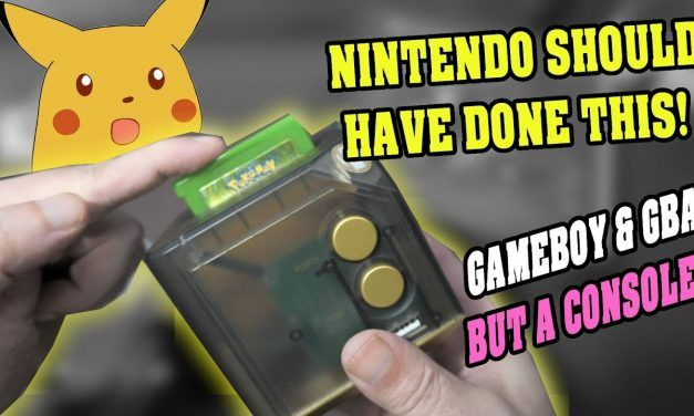 Gameboy & Gameboy Advance – BUT IT'S A CONSOLE… with HDMI!