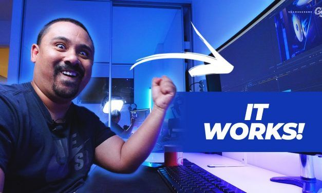 My Craziest Plan Yet! // Remote Editing Workstation with Parsec Ep 1