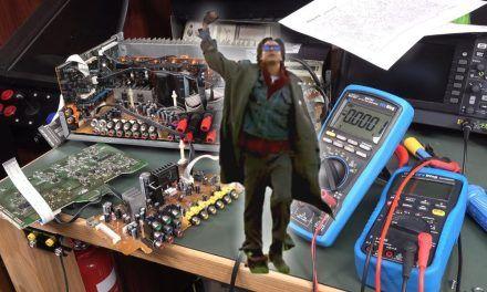 EEVblog 1395 – Onkyo Repair SUCCESS