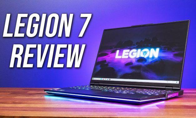 Lenovo Legion 7 Review – Best Ryzen Gaming Laptop of 2021?