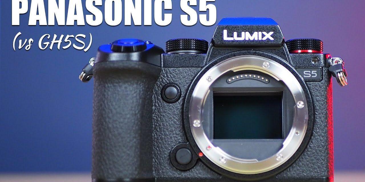 Panasonic Lumix S5 Camera Initial Impressions (vs GH5s)