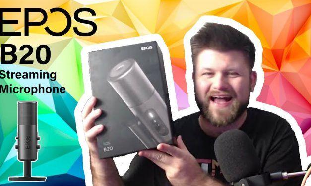 EPOS B20 Stream Microphone Review | TechManPat
