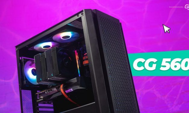 Not everything goes to plan – Deepcool CG560