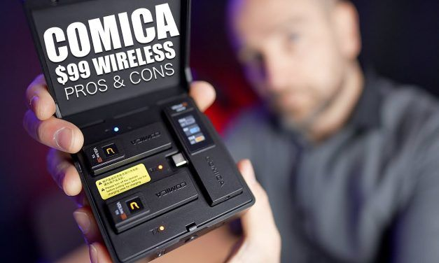 The $99 Comica VDLive10 Wireless Pack for YouTubers – Worth it?